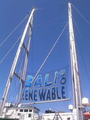 The sail poles